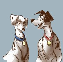 20170107 pongo and perdy by br3nna