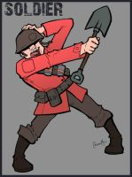 TF2 Soldier by Liabra