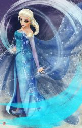 Queen Elsa by TyrineCarver