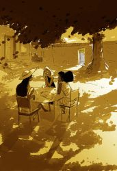That late happy afternoon glow. by PascalCampion