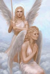 Email Angels by WomanWonder09