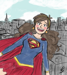 Super Mabel by spookylolly
