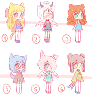 [OPEN 3/6] Random adopts~ set price by Seraphy-chan