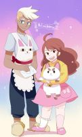 Bee and PuppyCat by GAN-91003