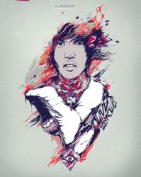 Oliver Sykes by insaneKaffeine