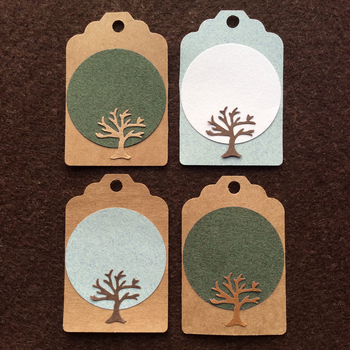 Kraft Tree Tags by AsliBayrak