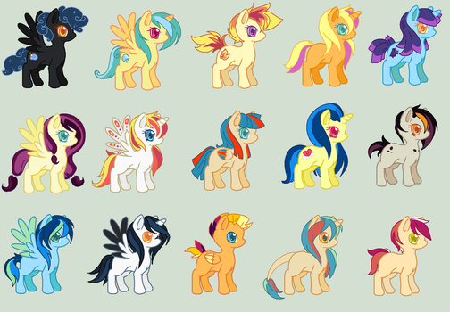 MLP Adopts CLOSED by JustOurAdopts