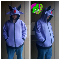 Alien Fox Cosplay Hoodie[CUSTOM] by KyosWorkShop