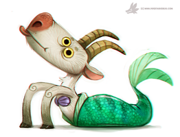 Day 748# - Capricorn by Cryptid-Creations