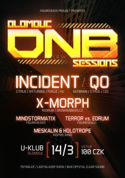 Olomouc DNB Sessions #02 flyer by 2NiNe