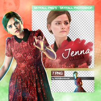 Jenna Coleman PNG Pack by btchdirectioner