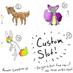 Adoptables Batch .:CLOSED:. by MonsterMeds