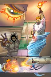 Frost Fire page 16 color by johnercek