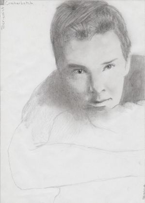 Benedict Cumberbatch (Unfinished?) by LaChicaRara