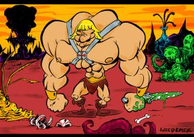He-Man Master of His Universe by sosnw