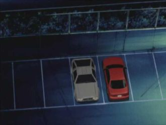 rare DeLorean DMC-12 in Initial D by RJLightning68