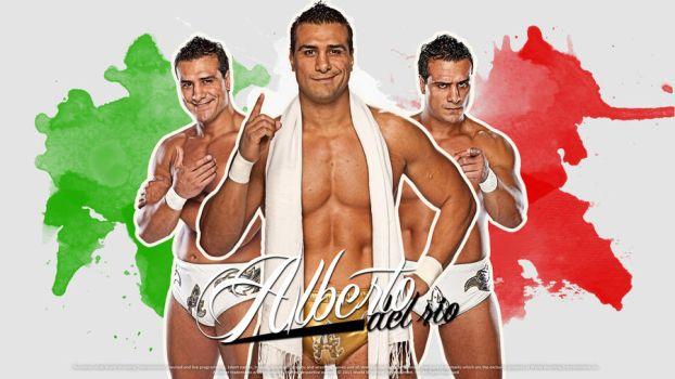 Alberto del Rio Wallpaper by findmyart