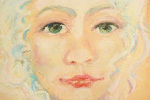 marie antoinette face detail by sea-dries-up