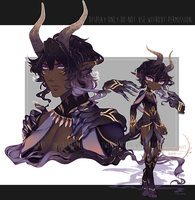 closed: {youkai adoptable #81] 24 hr auction by R0HI0