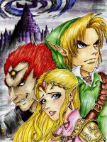 The Triforce 2 by Louleialalouwe