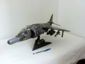 RAF Harrier by lusitania25