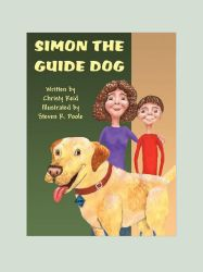 Simon The Guide Dog Book Cover by SteevDragon