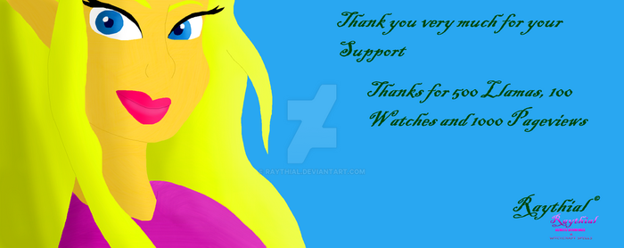 Thank You Much For Support by Raythial