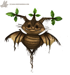 Daily Paint #984. Mandrake Rootling (OA) by Cryptid-Creations