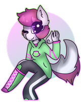 Scootaloo + Susan fusion by Alesstra