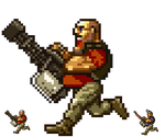 TF2 Heavy - Pixel art by DrClosure