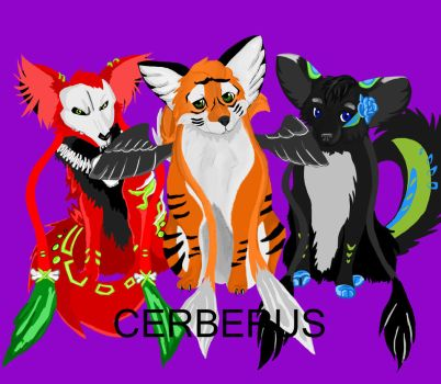 Ceberus's Pets finished by shadowsen