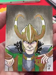 Loki (Timmins con 2018 comission) by SoVeryUnofficial