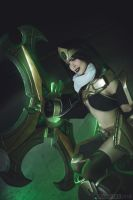 League of Legends  - Sivir Cosplay by TineMarieRiis