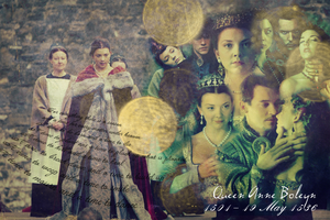 Tribute to Anne Boleyn by Ligra