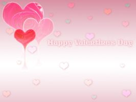 Valentine's Day Wallpaper by alana-m