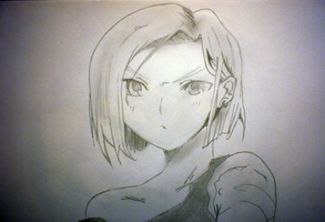 Android 18 by Hoboballan