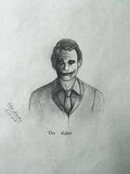 The Joker by thedragoncastle