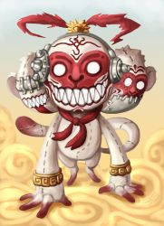 Doll Devil : 3 Wise Monkey by polawat