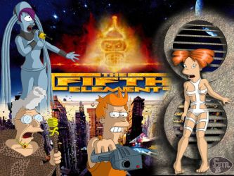 futurama fifth element by RikudaSanin