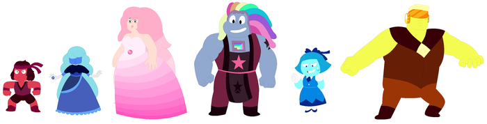 My Version of Steven Universe 3 by JanethePegasus