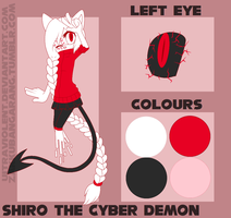Shiro the Cyber Demon // Reference by rnewls