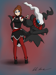 Darkrai by Saronicle