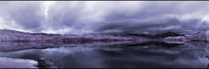 The Trossachs Pano Infrared... by MichiLauke