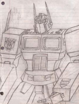 League of the Convoys: Optimus Prime by UnicronHound
