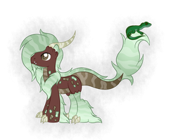 OC Ref: Tarasque the Dragon Aqua Equos by SilverRomance