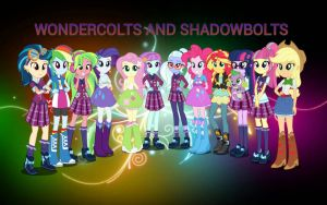 Equestria Girls Friendship Games Wallpaper by ShadowTheKillerX