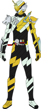 Kamen Rider Build: WolfKnight Form (fanmade) by Ayahime0