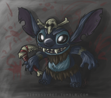 Stitch/Gnar - League of Legends by issabissabel