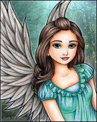 Forest Angel by ArtfulJessica