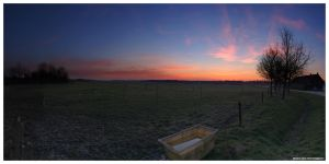 Early spring Panorama by MisterDedication